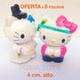 Adorno Para Decorar Torta Hello Kitty Muñecos Souvenir Envío