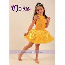 Vestido De Princesa Bella Disfraz