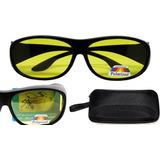 50f06a4100634 Óculos Night Drive Direção Noturna Sobrepor Polarizado Uv400