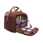 Bolsa Térmica Com Kit Picnic 4p - Guepardo + Nf + Garantia