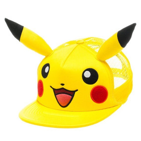 Gorra Pikachu Pokemon Cachucha Original **envio Gratis