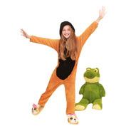 Mono Pijama Corderito Para Niñas Estampado Muy Suave