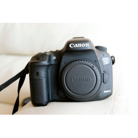 Camara Canon 7d Mark Ii Cuerpo (en Caja + Accesorios)
