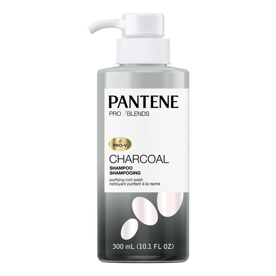 Shampoo Charcoal Pantene Pro Blends X 300 Ml