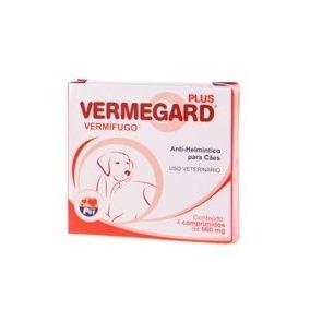 Vermegard Vermífugo Plus Para Cães P/ Até 40kg Frete Grátis