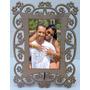 Porta Retrato Arabesco Flores Foto: 10x15 3pç
