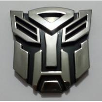 Emblema Transformers Cromado Universal Automotivo