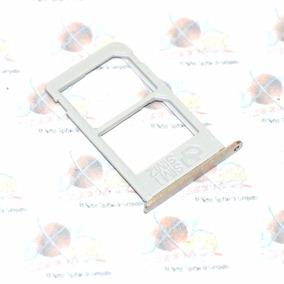 Refaccion Bandeja Sim Samsung Galaxy Note 5 Dual Sim Dorado
