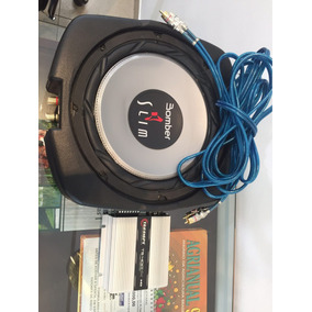 Caixa Bomber Slim 10 200w Rms + Módulo Taramp
