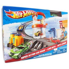Autopista Hot Wheels Auto Lavado Autolavado - Envio Gratis