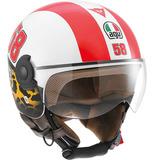 Casco Agv Moto City Bali Copter Marco Simoncelli