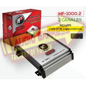 Amplificador 2 Canales C/control De Bajos Externos Hf1000.2