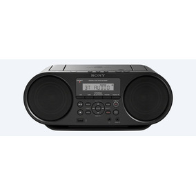 Radio Grabadora Sony Zs-rs60bt Bluetooth Usb Boombox Refurb