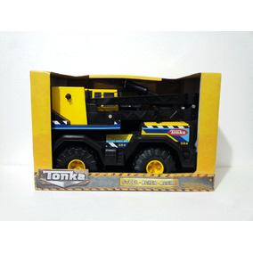 Tonka Camion Grua Excavadora Vehiculo Acero Hot Wheels Metal