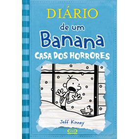 Livro Diário De Um Banana - Vol. 6 - Casa Dos Horrores F
