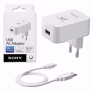 Cargador Sony Micro Usb 2.1a Carga Rapida - Factura A / B