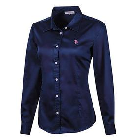 Camisa Women Us Polo Assn. Lu2000-217 Marino