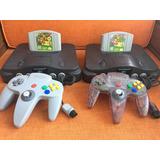 Consola Nintendo 64 Mario Bros + 1 Juego Promocion Noviembre