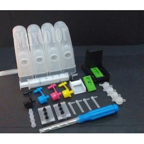 Bulk Ink P/ Hp Multifuncional C3100 + Snap Fill + Broca