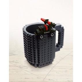 Caneca Copo Lego Nerd Com Peças Blocos Bebidas Personalizada