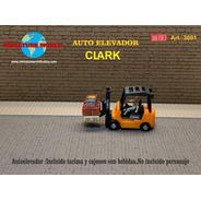 Nico Autoelevador Clark Miniature World H0 (mntw 87)