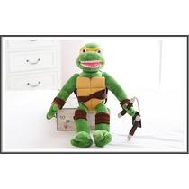 Tartaruga Ninja Michelangelo Brinquedo 40cm Pronta Entrega