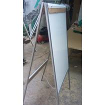 Rotafolio Clasico 60 * 100 * 150 Cuatripie Blanco Aluminio