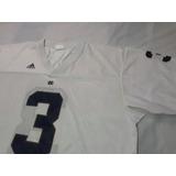Jersey Nfl Ncaa adidas Notre Dame 3xl Montana Xxxl Colegial