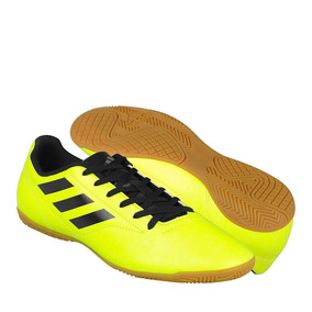 Tenis De Fútbol adidas Para Hombre Simipiel Amarillo Con Neg