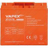 Bateria Gel 12v 17ah Vapex 18x8x17cm Para Grupo Electrogeno