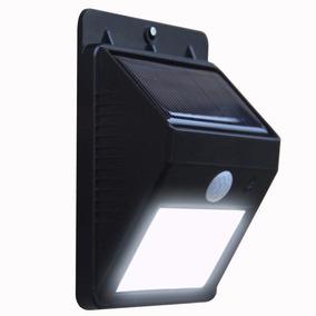 Sensor Luz Led Carregador Solar Presença Arandela Balizador