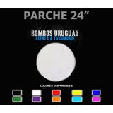 Parche 24 Hidraulico Transparente O A Color Bombos Uruguay