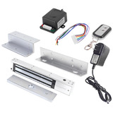 Kit Chapa Magnética Mag600 Lb Montajes Control Acceso Remoto
