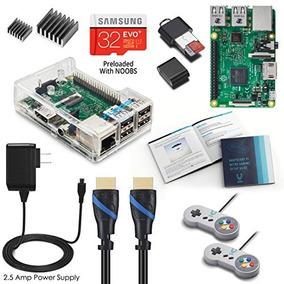 Kit De Juegos Arcade Vilros Pi 3 Retropie C/gamepads Clásico