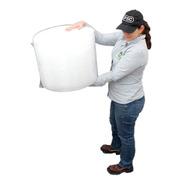 E Rollo Plástico Burbuja De 40cm X 50 Metros
