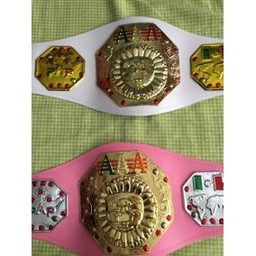Aaa Triple A Campeonato Cinturon D Niña 90cm Aprox