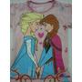 Franelas De Niña De Frozen Camisas Ropa De Niñas