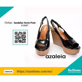 Zapatos Azaleia Verniz Preto
