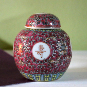 Potiche Porcelana China Sellado (150453)
