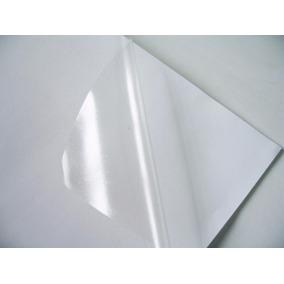 Vinil Adesivo A4 Transparente Para Impressora Jato De Tinta