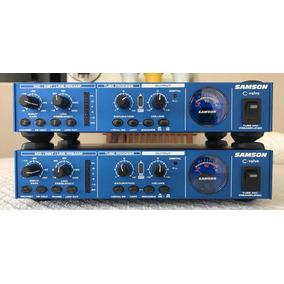 9b2a33b7806a0 Pré Amplificador Valvulado Samson C Valve - Instrumentos Musicais no ...