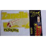 Juego De Calcos Zanella Pocket 50cc Amarilla - 2r