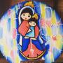 Souvenirs De La Virgen Y Aguja Para Tapiz Guajiro.