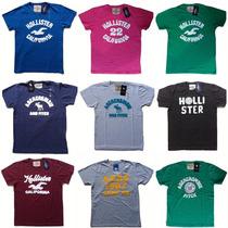 Camiseta Holister   Abercrombie   Aeropostale I S/ Juros