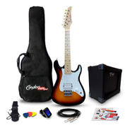Kit Guitarra Juvenil Condor Toys Club Rx1 Sb + Amplificador