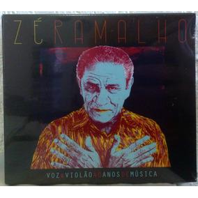 Cd Box Zé Ramalho - Voz & Violão 40 Anos De Música -