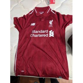 508fcc59adf3c Playera Jersey Liverpool Fc Champions 2018 2019 New Balance