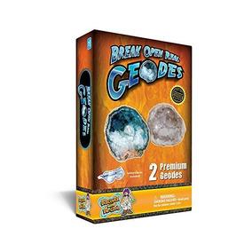 Geode Roca Kit De La Ciencia - Abrir Una Grieta 2 Asombrosa