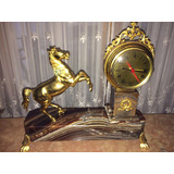 Reloj Antiguo Pendulo Base Granito
