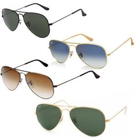 Oculos Ray Ban Aviador Rb 3026 Cinza Degrade Espelhado preto Outras ... bc93328de2
